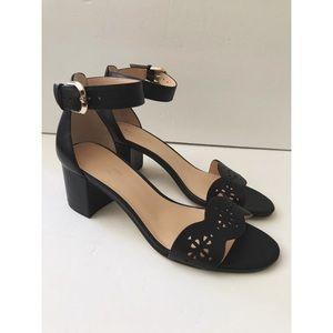 Kate Spade Willow Leather Block Heel